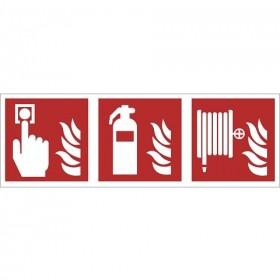 FO36 Brandmelder - brandblusser - brandslang