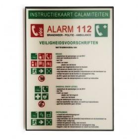 Instructiekaart calamiteiten design