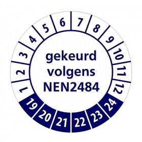 NEN2484 blauw