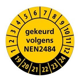 NEN2484 geel