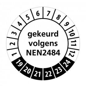 NEN2484 zwart