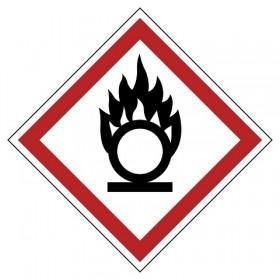 GHS03 Brand bevorderend (oxiderend)