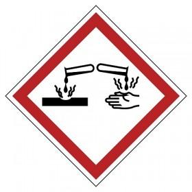 GHS05 Corrosief (Bijtend)