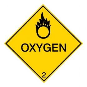 IMDG 2B - Zuurstof