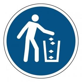 M030 Gebruik de vuilnisbak