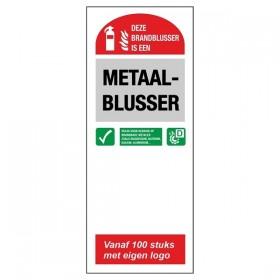 FT10 Blusser ID Metaal blusser