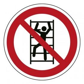 P009 Klimmen verboden