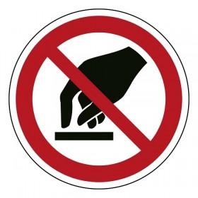 P010 Aanraken verboden