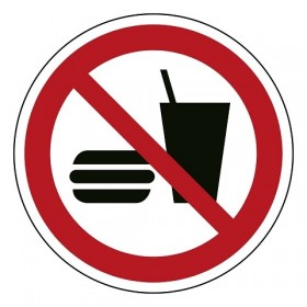 P022 Eten en drinken verboden