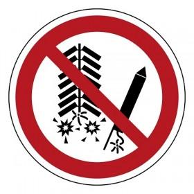 P040 Ontsteken van vuurwerk verboden