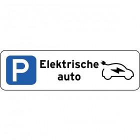 P Elektrische auto