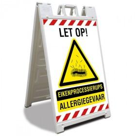 A-bord Signicade Eikenprocessierups