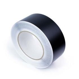 Duurzame vloertape 50 mm ZWART (rol 33 meter)