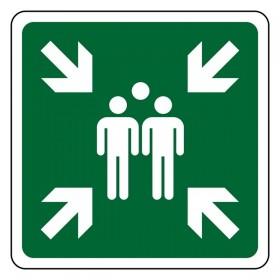 E007 Verkeersbord verzamelplaats
