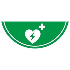 Vloermarkering Defibrillator 75x30 cm NALICHTEND / antislip