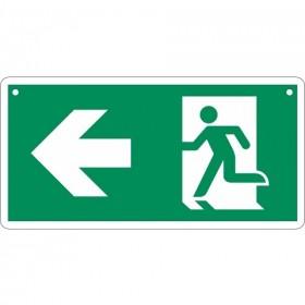 Vluchtweg links / rechts (dubbelzijdig)